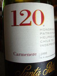 SantaRita120_Carmenere_2008