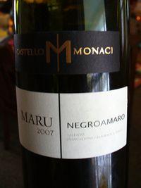 MonaciMaru_Negroamaro_2007